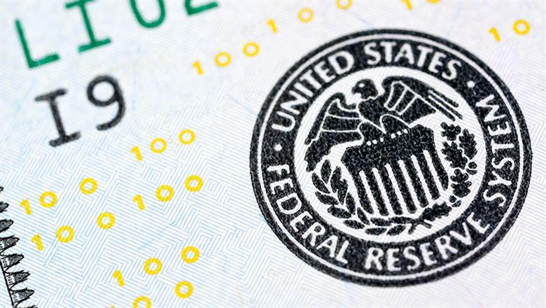 close-up of Federal Reserve seal