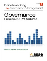 Benchmarking in Association Management: Governance Policies and Procedures (PDF Download)