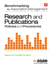 Benchmarking in Association Management:  Publications and Research Policies and Procedures (PDF Download)