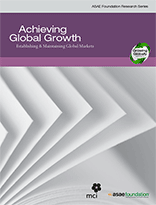 Achieving Global Growth: Establishing & Maintaining Global Markets  (PDF)